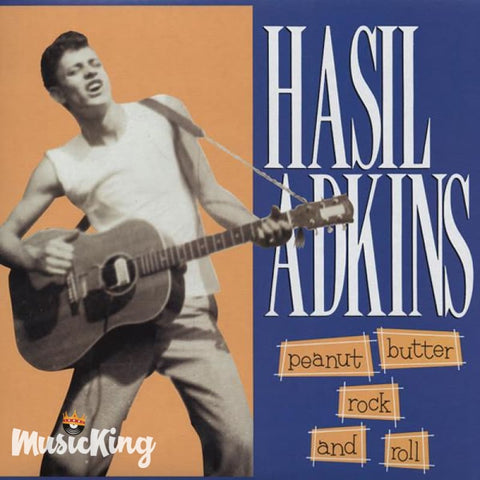 Hasil Adkins - Peanut Butter Rock And Roll - CD - CD