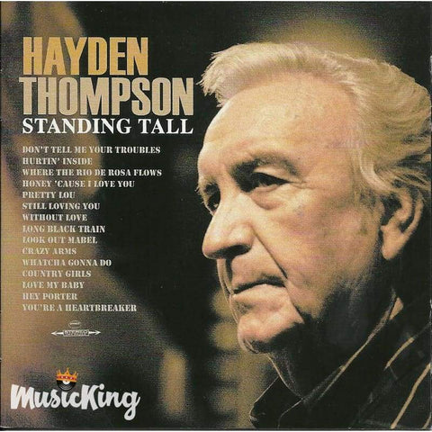 Hayden Thompson - Standing Tall Double Cd - Cd