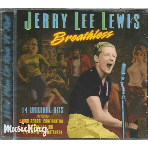 Jerry Lee Lewis - Breathless - Cd