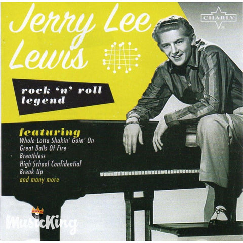 Jerry Lee Lewis - Rock 'N' Roll Legend CD at £5.50