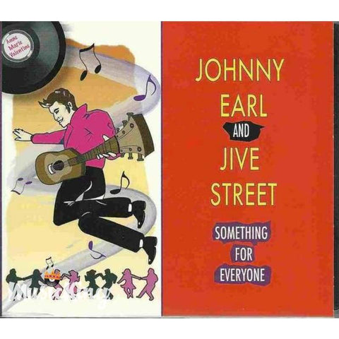 Johnny Earl & Jive Street - Something For Everyone CD - CD