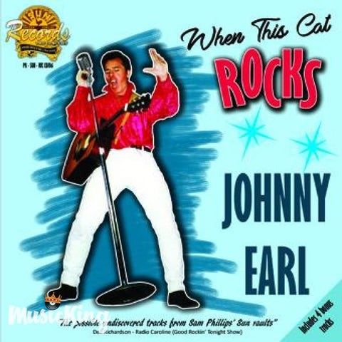 Johnny Earl - When This Cat Rocks - CD - CD