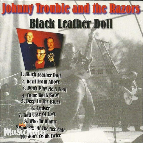 Johnny Trouble And The Razors - Black Leather Doll - Cd
