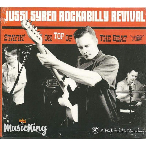 Jussi Syren Rockabilly Revival - Stayin On Top Of The Beat - Digi-Pack