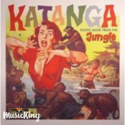 Katanga - Exotic Music From The Jungle 10 Inch - Vinyl