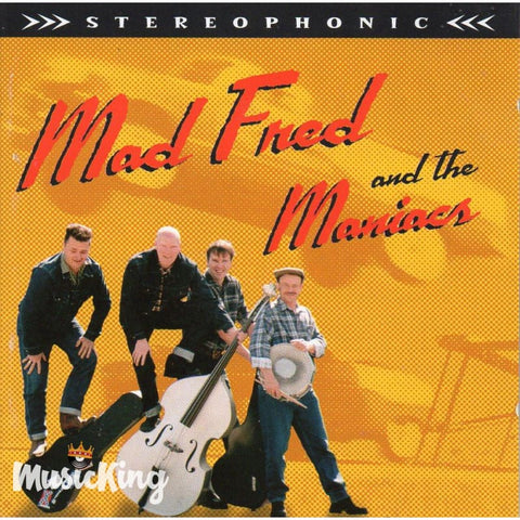 Mad Fred & The Maniacs - CD