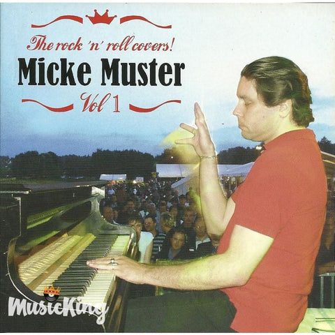 Micke Muster - The RocknRoll Covers Volume 1 - CD