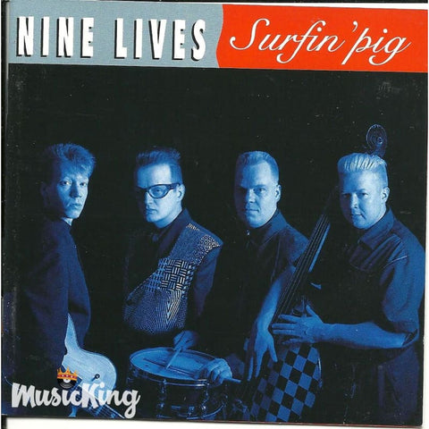 Nine Lives - Surfin Pig - CD