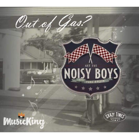 Noisy Boys - Out Of Gas CD - Digi-Pack