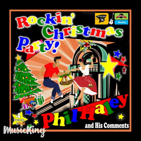 Phil Haley And His Comments - Rockin Christmas Party - Vinyl 45 RPM - Vinyl