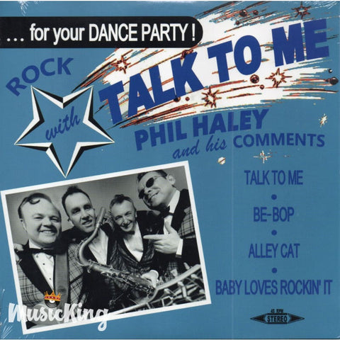 Phil Haley And His Comments - Talk To Me - Vinyl EP Vinyl at £7.00