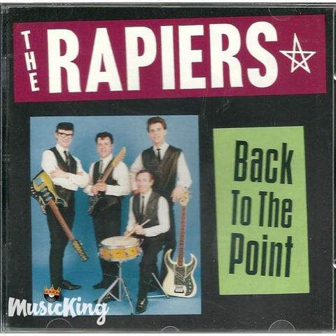 Rapiers - Back To The Point - Cd
