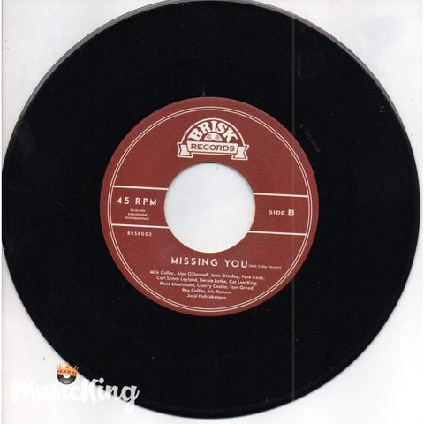 Ray Collins' Hot Club & Friends ‎– Missing You Vinyl 45Rpm - Vinyl