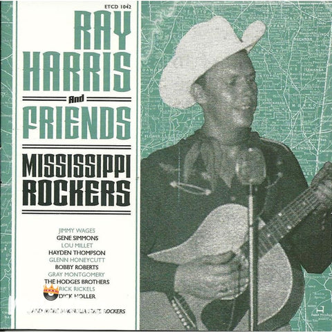 Ray Harris And Friends - Mississippi Rockers - CD