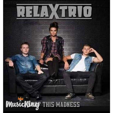 Relax Trio - Stop This Madness CD - Digi-Pack