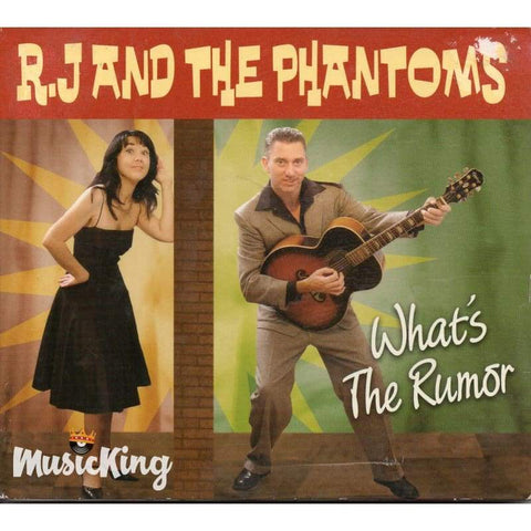 Rj And The Phantoms - Whats The Rumour - Cd