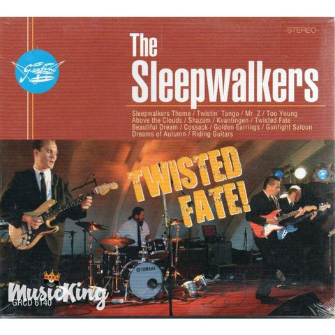 Sleepwalkers - Twisted Fate - Digi-Pack