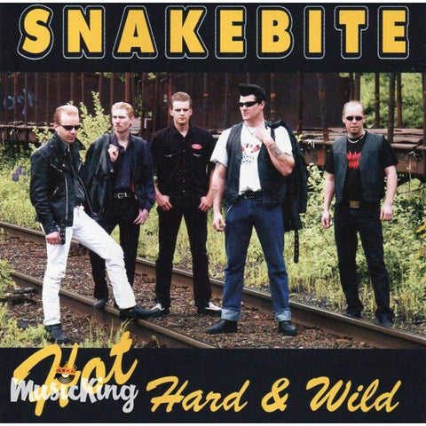 Snakebite - Hot Hard & Wild - Cd