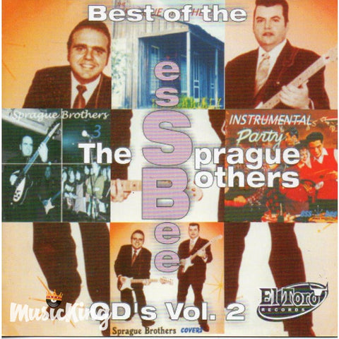 Sprague Brothers - Best Of The Essbee 's Vol 2 CD at £9.50