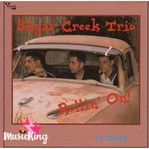 Sugar Creek Trio - Rollin' On CD at £9.50