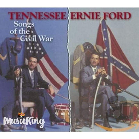 Tennessee Ernie Ford - Songs of The Civil War CD - Digi-Pack