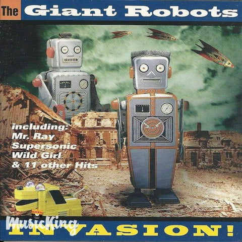 The Giant Robots - Invasion - Cd