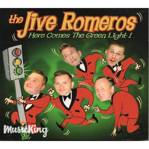 The Jive Romeros - Here Comes The Green Light - Digi-Pack