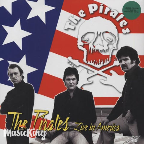 The Pirates - Live In America - Green Vinyl LP Vinyl at £12.50