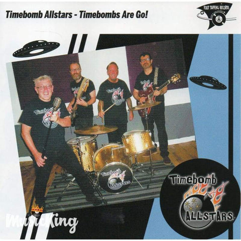 The Timebomb Allstars - Timebombs Are Go! CD - CD