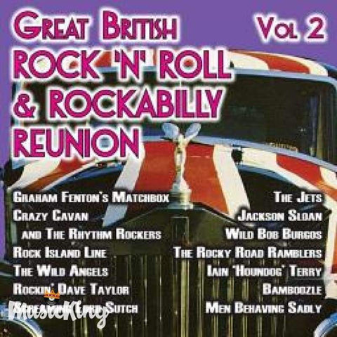 Various - British Rock 'N' Roll & Rockabilly Reunion 2 CD - CD