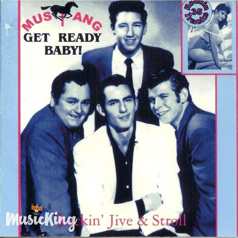 Various - Mustang Records - Get Ready Baby - Cd