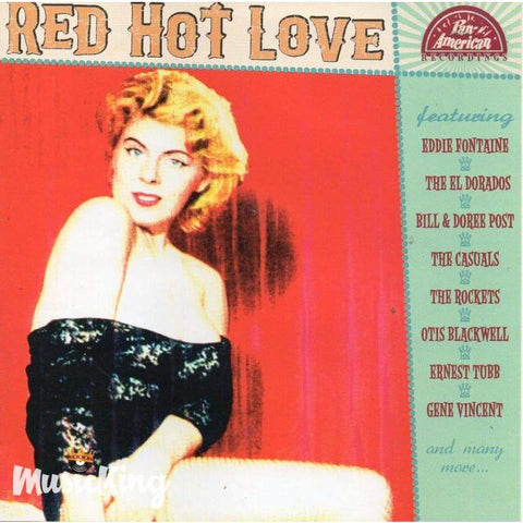Various - Pan American Recordings - Red Hot Love - Cd