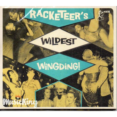 Various - Racketeers Wildest Wingding! Atomicat (ACCD066) CD - Digi-Pack