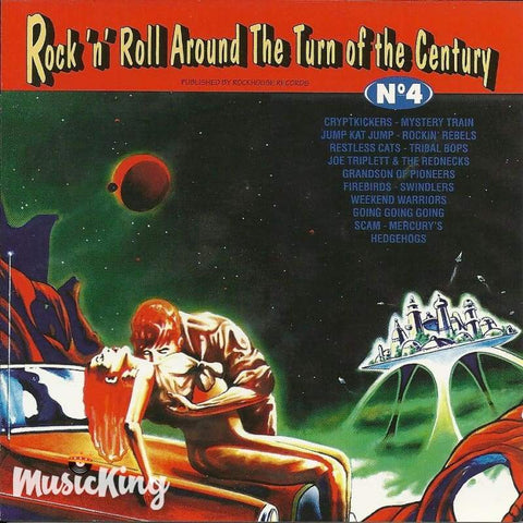 Various - Rock N Roll Around The Turn Of The Century No 4 - Cd