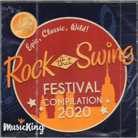 Various Rock That Swing Festival 2020 CD - CD