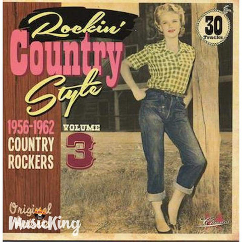 Various - Rockin' Country Style 1956 -1962 Vol 3 CD - CD
