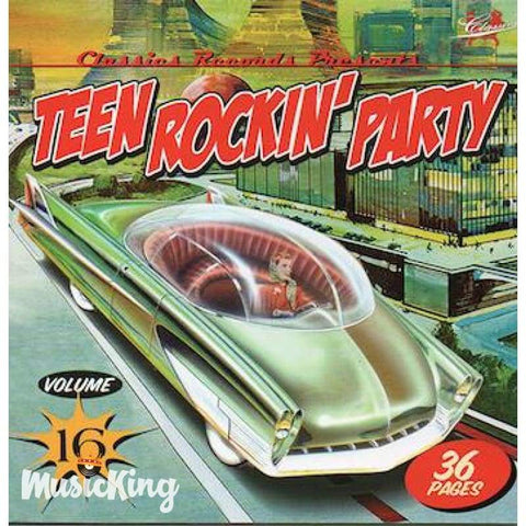 Various - Teen Rockin' Party Vol 16 CD - CD