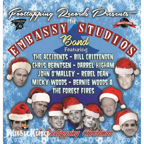 Various - The Embassy Studios Band - A Foottapping Christmas - CD