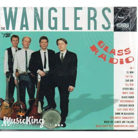 Wanglers - Glass Radio - Digi-Pack