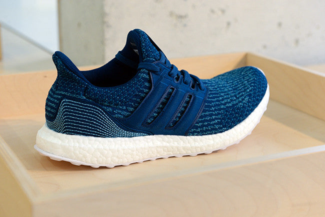 timeless design d150d dad37 Transforming Parley Ocean Plastic™ into high-perfomance sportswear, UltraBOOST  Parley reuse on average 11 plastic bottles per pair. This new addition to  the ...