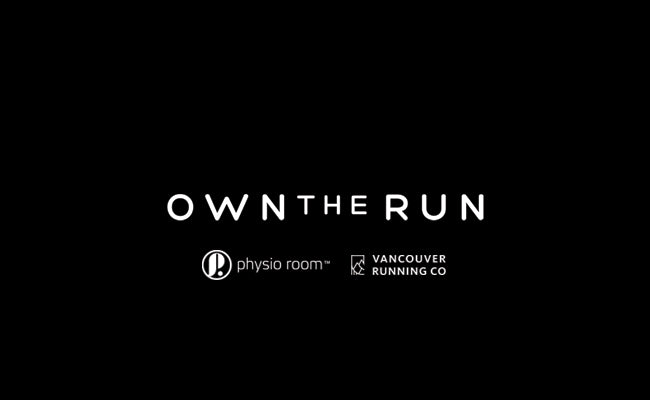 Own the Run - Physioroom Vancouver