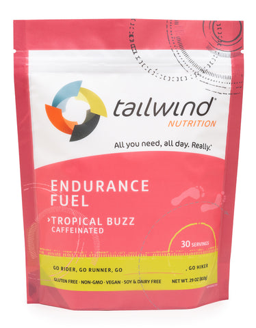 Caffeinated Endurance Fuel Tropical Buzz - 30 Serving