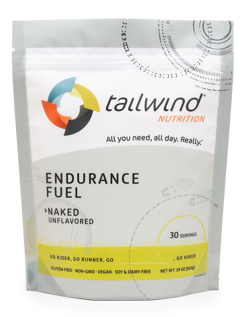 Endurance Fuel Naked (unflavoured) - 30 Serving