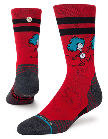 Cat In The Hat Run Crew - Unisex