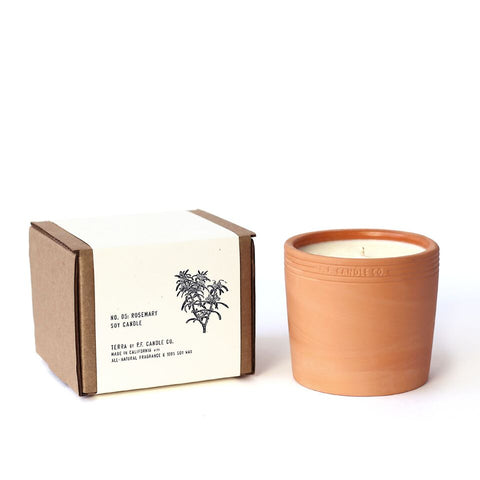 P.F. Candle Co. - Terra No. 5 - Rosemary