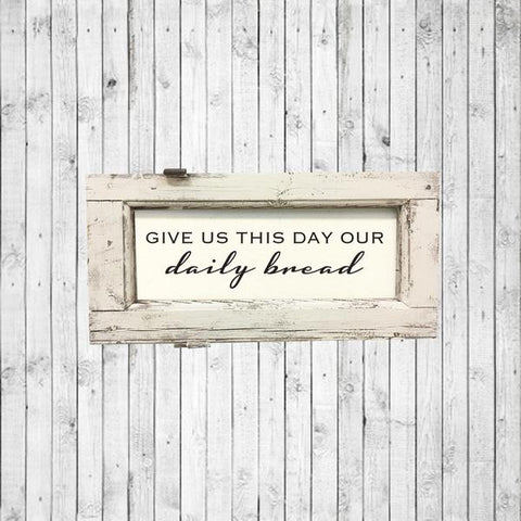Brayden and Brooks  - Holland Window | Give Us This Day Our Daily Bread | Smallest