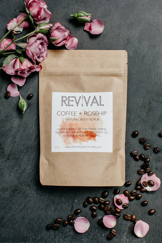 Coffee + Roseship Body Scrub