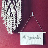 Mountains of Thread - Oh My Darlin' Wall Banner