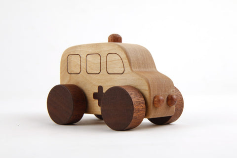 Beyond 123 - Wooden Car Village