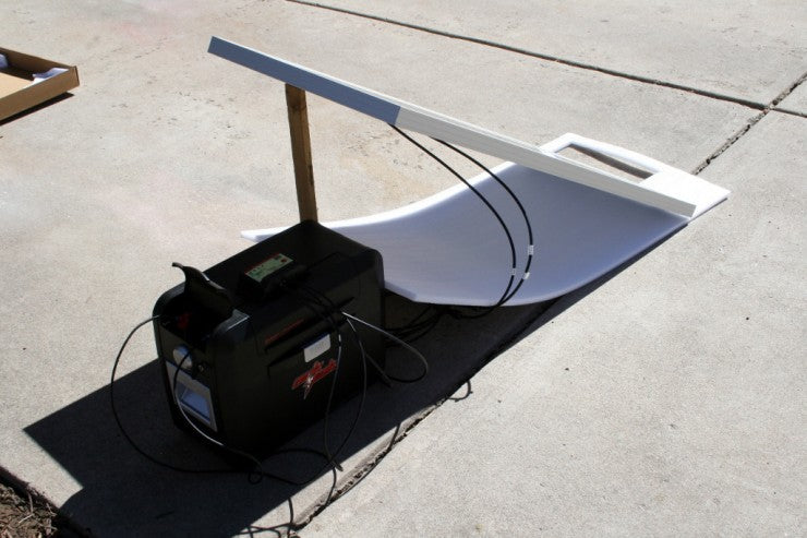 ArkPak with 100W Solar Panel and Charge Controller
